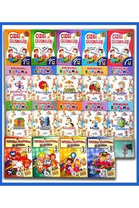 Ya-Pa Yayınları 5 - 6 Yaş - 20 Kitap Okul Öncesi Karma Eğitim Seti 568 Sayfa 0