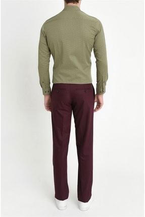 Efor P 888 Slim Fit Bordo Klasik Pantolon 3