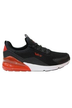 Wickers 2349 Siyah-kırmızı Anatomik (40-44) Erkek Spor Ayakkabı 1