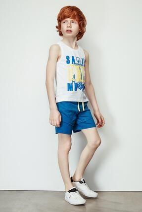 Nebbati Erkek Çocuk Mavi Şort 19ss2nb3147 0
