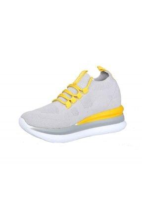 MP Ewoll 1037 Gri Kadın Sneakers 3