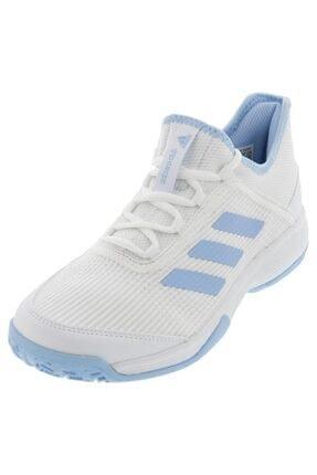 adidas G26837 Adizero Beyaz Çocuk Tenis Ayakkabısı 1