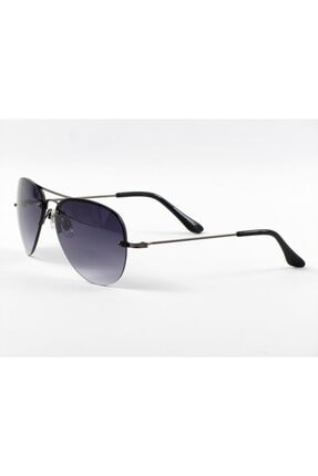 Paco Loren Paco Loren Erkek Güneş Gözlüğü Çerçevesiz Damla Siyah Pl1043s 2