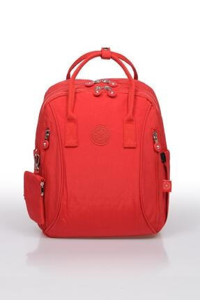 Smart Bags Kırmızı Kadın Sırt Çantası Smb1220 0