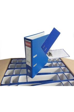 QueenKlasör Queen Klasör Geniş Çakmalı Mavi 15 Li Paket Ekonomik 1