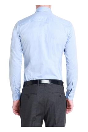 Efor Gk 532 Slim Fit Koyu Mavi Klasik Gömlek 2