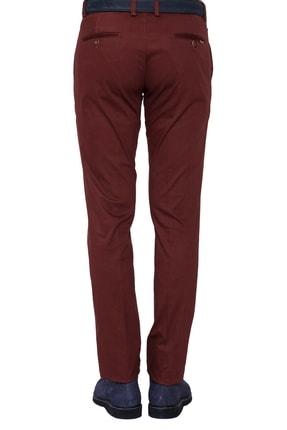 Efor P 1021 Slim Fit Bordo Spor Pantolon 3