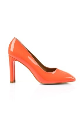 Oblavion Petra Turuncu Topuklu Ayakkabı 0