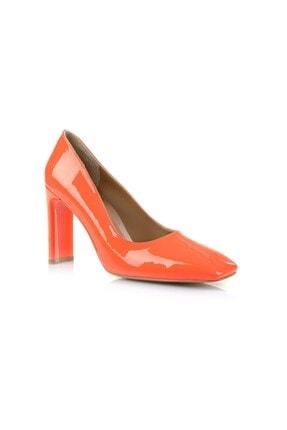 Oblavion Petra Turuncu Topuklu Ayakkabı 1