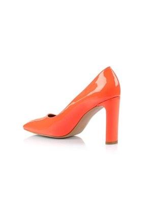 Oblavion Petra Turuncu Topuklu Ayakkabı 2