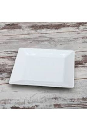 Güral Porselen Kare Servis Tabağı 6'lı 24*24 Cm 0