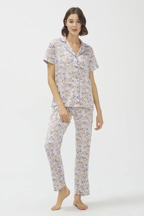 Penti Çok Renkli Grace Pijama Takımı 0