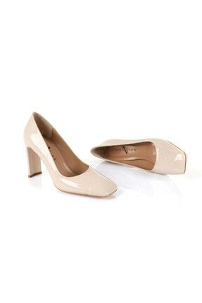 Oblavion Petra Bej Topuklu Ayakkabı 4