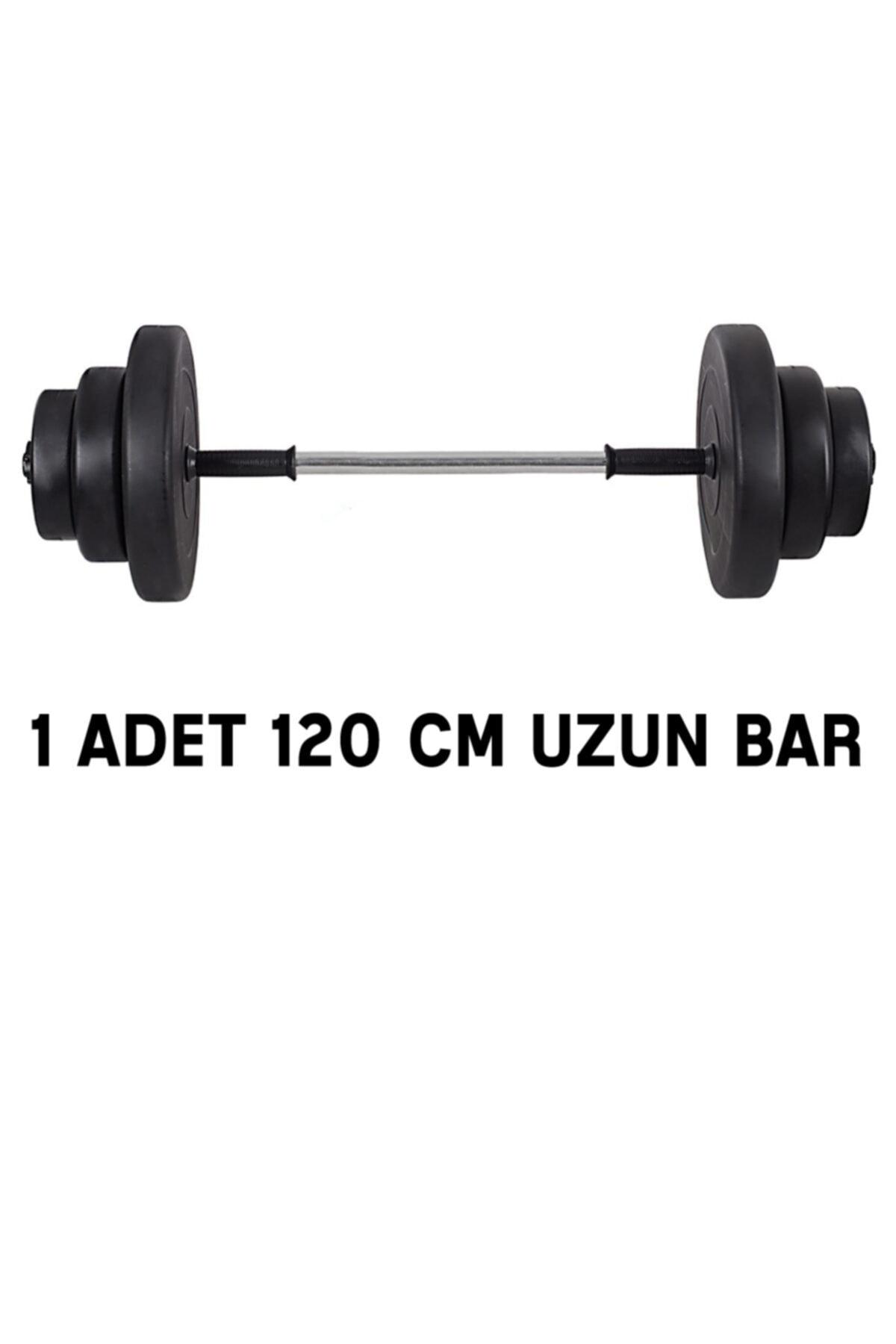 ECG Spor 22 Kg Halter Seti - Deadlift Squat Biceps Triceps Shoulder