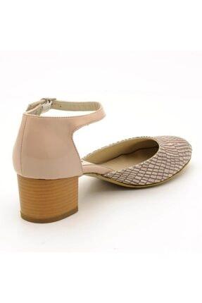 İriadam 9797 Bej Lezar Büyük Numara Bayan Ayakkabıları 2