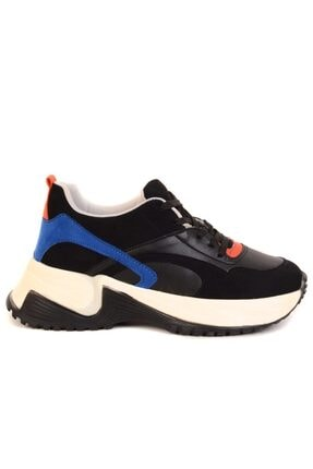 تصویر از - Siyah Kadın Günlük Ayakkabı