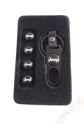 Yekoto Jeep Metal Anahtarlık Ve Sibop Kapak Seti 1.kalite 2
