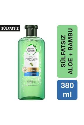 Herbal Essences Sülfatsız Güç Ve Nem Aloe + Bambu Şampuan 380 ml 0