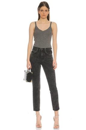 Grlfrnd Siyah Jean Pantolon 0