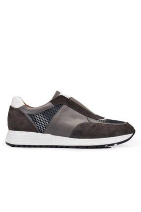 Nevzat Onay Hakiki Deri Haki Günlük Sneaker Erkek Ayakkabı -11374- 0