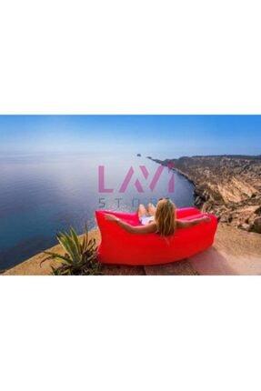 Ankaflex Pratik Şişme Yatak Şezlong Hava Ile Dolan Kamp Plaj Deniz Yatağı Şişme Koltuk 1