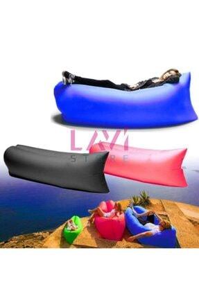 Ankaflex Pratik Şişme Yatak Şezlong Hava Ile Dolan Kamp Plaj Deniz Yatağı Şişme Koltuk 3