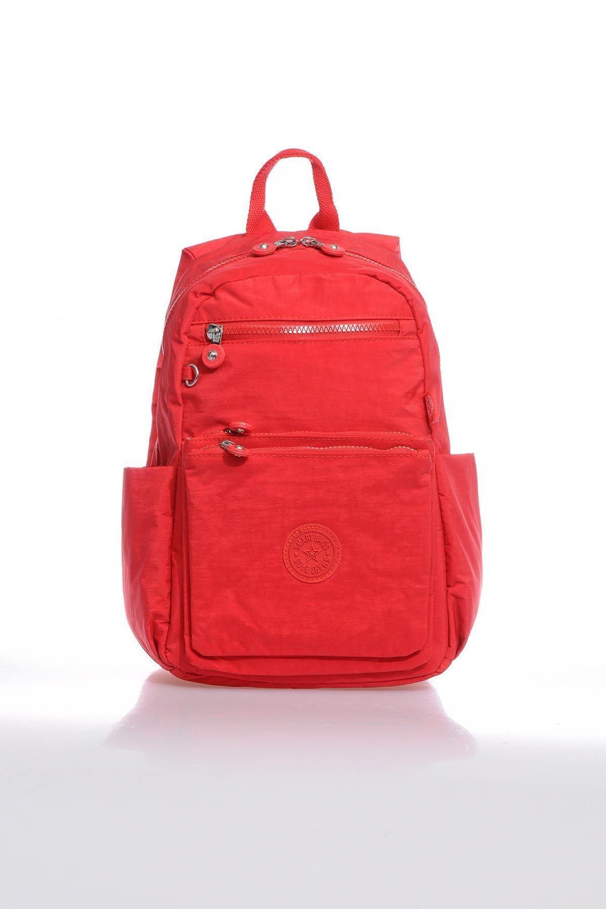 Smb3068-0019 Kırmızı Kadın Sırt Çantası