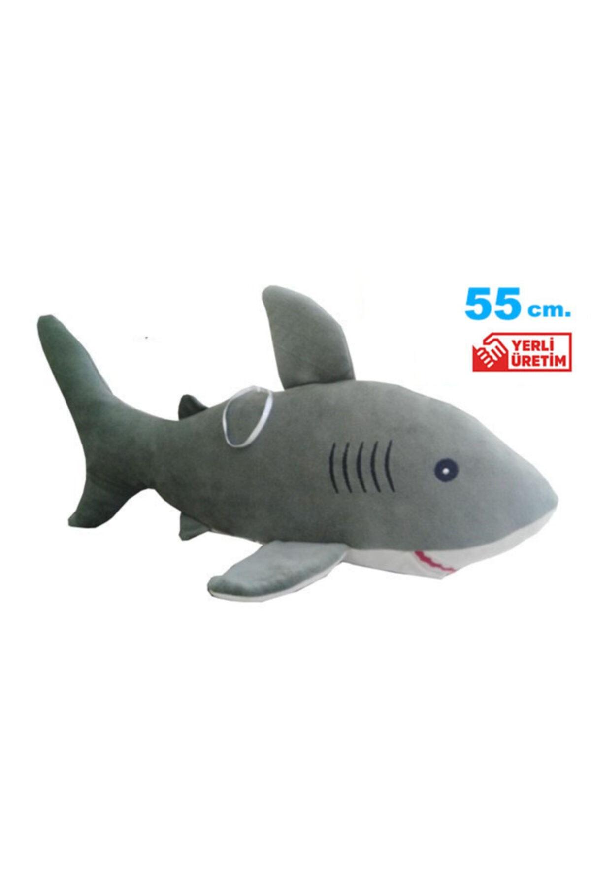 Uyku Arkadaşım Yumuşak Köpek Balığı - 55 Cm.
