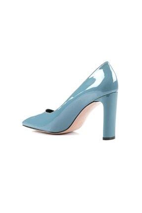 Oblavion Petra Indigo Mavi Topuklu Ayakkabı 2