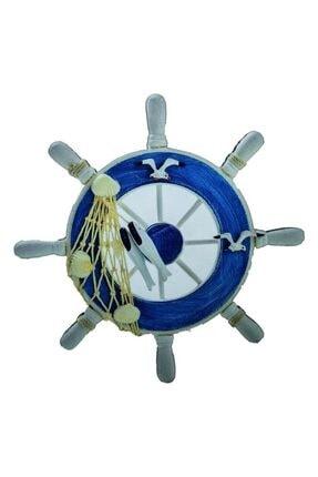 CajuArt 7 Parça Denizci Marin Temalı Ahşap Duvar Yapıştırma Süs 2