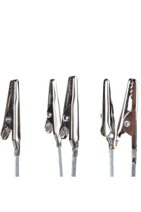 BAYLAR 669 Not Tutucu Metal Kıskaç Notluk Beyaz 3