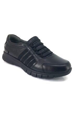 تصویر از 20ka 29410 Anatomik Günlük Bayan Ayakkabı-siyah