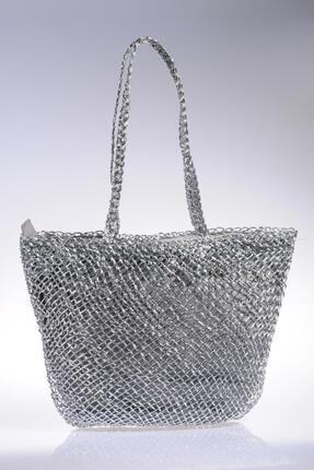 Sergio Giorgianni Luxury Sghsr1014 Gümüş Kadın Omuz Çantası 1