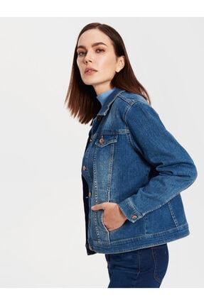 Kadın Orta Rodeo  Jean Ceket 0S1679Z8