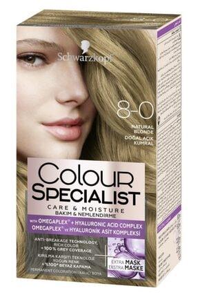 Schwarzkopf Colour Specialist 8.0 Doğal Açık Kumral 0