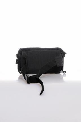 Smart Bags Smb3062-0001 Siyah Kadın Bel Ve Çapraz Çanta 2
