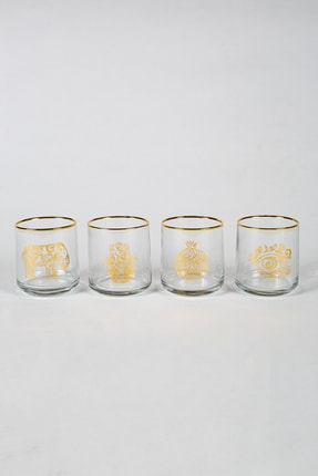Rakle Tılsım 4'lü Su Bardağı Seti 260 Cc 1