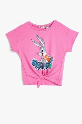 Koton Kız Çocuk Looney Tunes Lisanslı Baskılı T-shirt 0ykg37434ak 0