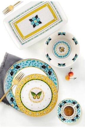 The Mia Patio 19 Cm Stoneware 6'lı Pasta Tabağı Pat0001 1