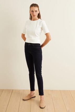 adL Kadın Lacivert Skinny Jean Pantolon 15339444000 1