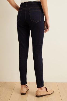adL Kadın Lacivert Skinny Jean Pantolon 15339444000 4