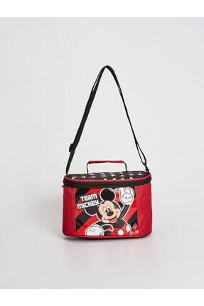 LC Waikiki Mickey Mouse Erkek Çocuk Kırmızı Csg Beslenme Çantası 0