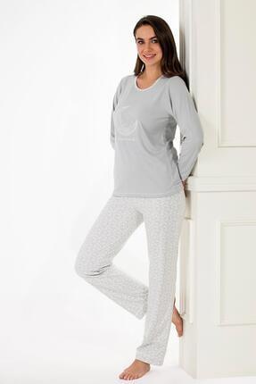 Etoile Ekstra Yumuşak Kumaş Pijama Takımı 98141 1
