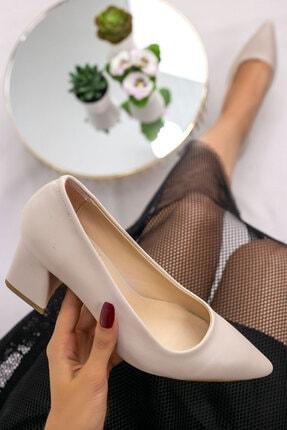 karazona Kadın Cilt Topuklu Topuklu Ayakkabı 1