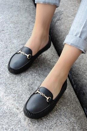 Fast Step Siyah Kadın Babet Ayakkabı 933za102 0