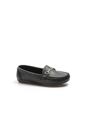 Fast Step Siyah Kadın Babet Ayakkabı 933za102 3