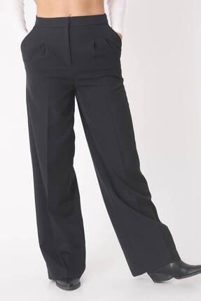 Addax Kadın Siyah Cep Detaylı Bol Pantolon Pn8058 - E8 ADX-0000023058 2