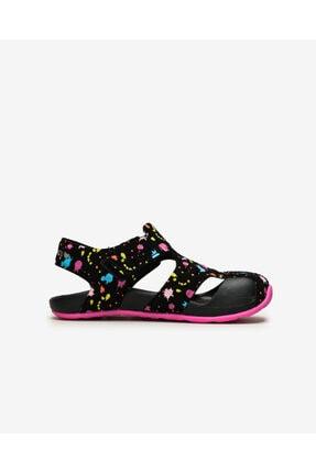 Skechers SIDE WAVE - Büyük Kız Çocuk Siyah Sandalet 1