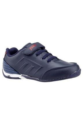 Jump Lacivert Kırmızı Erkek Çocuk Spor Ayakkabı 20810 0