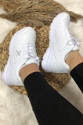 Kinetix Kadın Günlük Spor Beyaz Kadın Yürüyüş Ayakkabısı Suomy 0